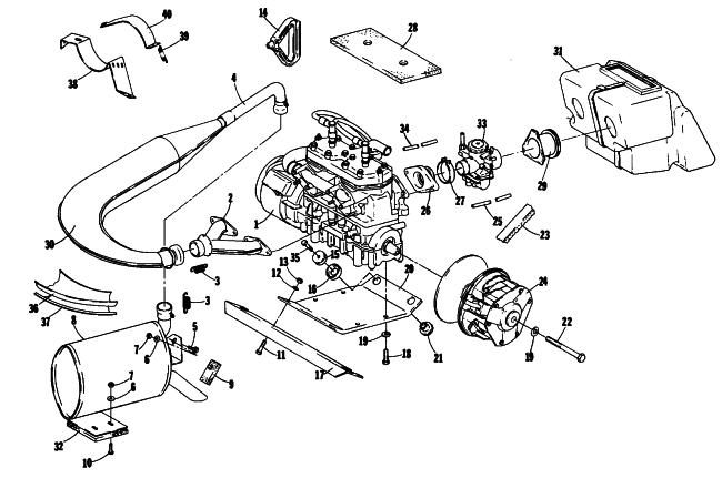 Snowmobile Engine Diagram